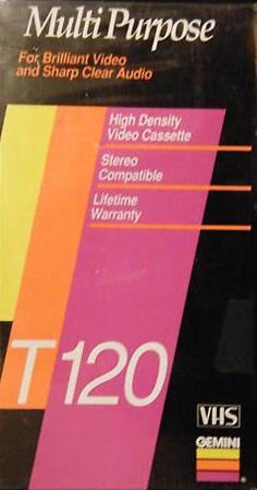 Quality Blank Video Cassette