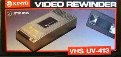 VHS Cassette Rewinder