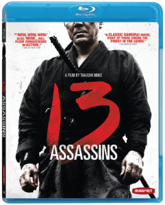 """13 Assassins"" Blu-ray Cover"