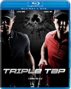 """Triple Tap"" Blu-ray Cover"