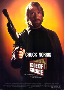 """Code of Silence"" Theatrical Poster"