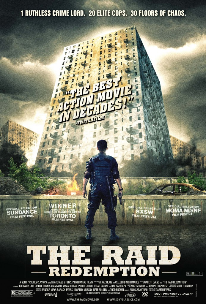 Raid: Redemption Blu-ray & DVD (Sony Pictures)