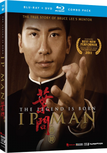 """The Legend Is Born: Ip Man"" Blu-ray Cover"