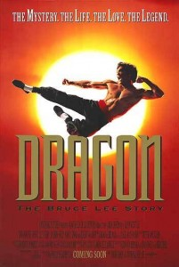 """Dragon: The Bruce Lee Story"" Theatrical Poster"