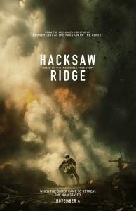 """""""Hacksaw Ridge"""" Teaser Poster"""