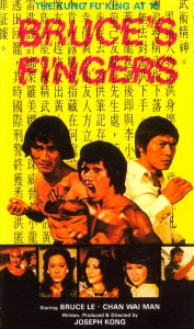 """""""Bruce's Deadly Fingers"""" Chinese Poster"""