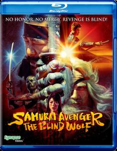 Samurai Avenger: The Blind Wolf | Blu-ray (Synapse Films)