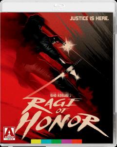 Rage of Honor   Blu-ray (Arrow Video)