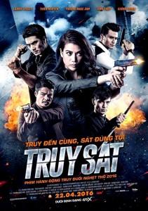 """Truy Sat"" Vietnamese Theatrical Poster"