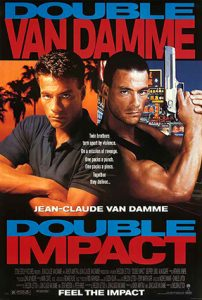 """Double Impact"" Theatrical Poster"