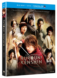Rurouni Kenshin Part I: Origins | Blu-ray & DVD (Funimation)