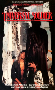 """""""Universal Soldier"""" VHS Cover"""