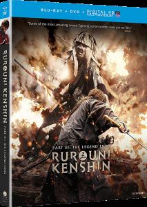 Rurouni Kenshin Part III: The Legend Ends | Blu-ray & DVD (Funimation)