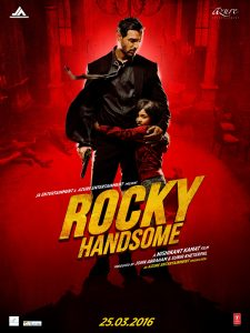 """Rocky Handsome"" Theatrical Poster"