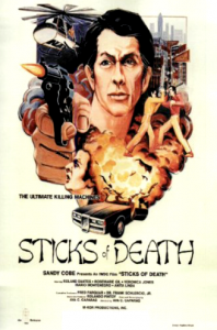 """Sticks of Death"" Theatrical Poster"