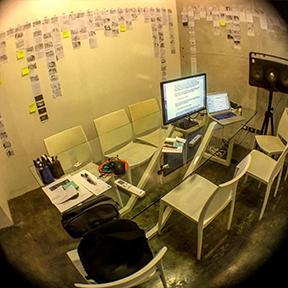 Pedring's meeting room.