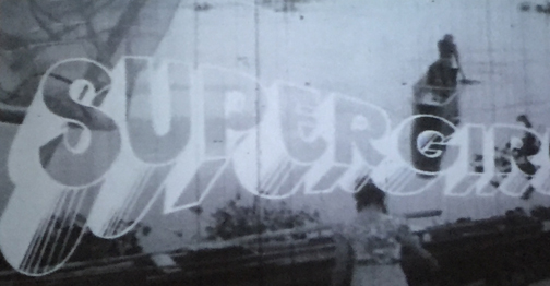 The film credit sequence for 1978's Superman cost millions of dollars to make. 1974's Supergirl's credits were done for a couple of pesos and some balut.