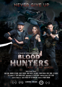 """Blood Hunters: Rise of the Hybrids"" Theatrical Poster"