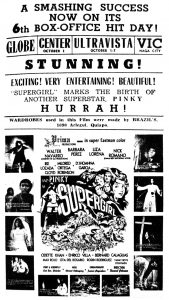 """Supergirl"" Newspaper Advertisement"