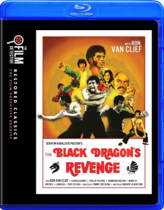 The Black Dragon's Revenge | Blu-ray & DVD (The Film Detective)