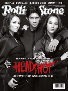 """""""Headshot"""" on the cover of Rolling Stone."""