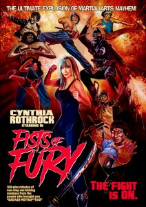 """Fists of Fury"" DVD Cover"