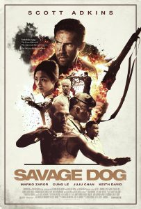 """Savage Dog"" Theatrical Poster"