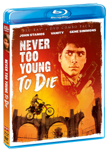 Never Too Young To Die | Blu-ray & DVD (Shout! Factory)