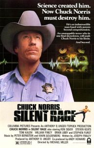 """Silent Rage"" Theatrical Poster"