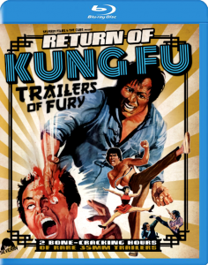 """Return of Kung Fu Trailers of Fury"" Blu-ray Cover"