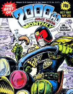 """2000 AD"" Judge Dredd Cover"
