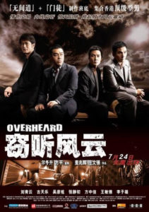 """Overheard"" Chinese Theatrical Poster"