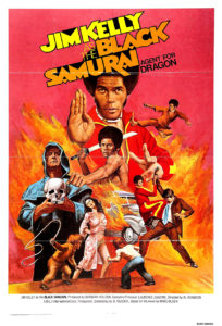 """Black Samurai"" Theatrical Poster"
