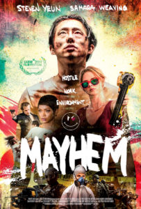"""Mayhem"" Theatrical Poster"