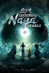"""Legend of the Naga Pearls"" Theatrical Poster"