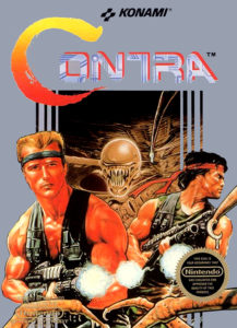 """Contra"" Videogame Cover"