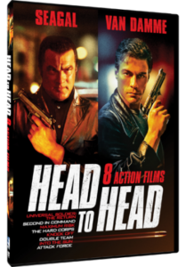 """Head to Head: The Seagal vs JCVD Collection"" DVD Cover"