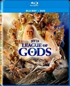 League of Gods | Blu-ray & DVD (Sony)