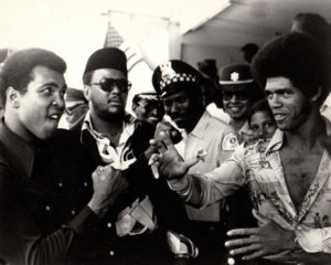 Muhammad Ali meets Jim Kelly