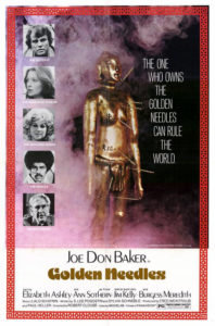 """Golden Needles"" Theatrical Poster"