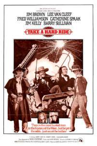"""Take A Hard Ride"" Theatrical Poster"