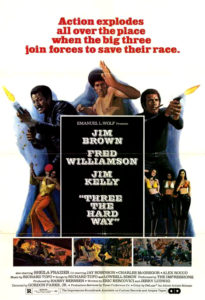 """Three the Hard Way"" Theatrical Poster"