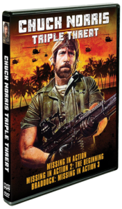 Triple Threat: Chuck Norris | DVD (Shout! Factory)
