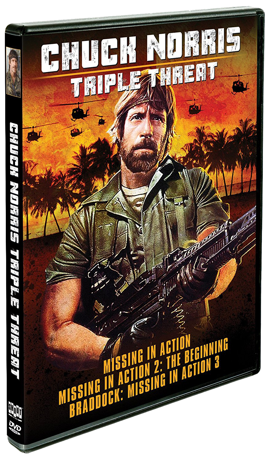 Triple Threat: Chuck Norris | DVD (Shout! Factory)  Missing In Action Poster
