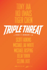"""Triple Threat"" Teaser Poster"