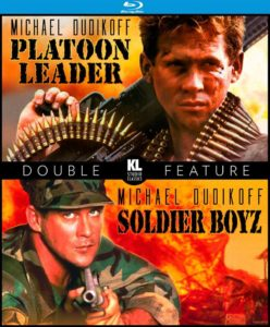 """Platoon Leader/Soldier Boyz"" Blu-ray Cover"