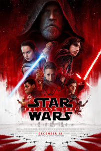 """Star Wars: The Last Jedi"" Theatrical Poster"