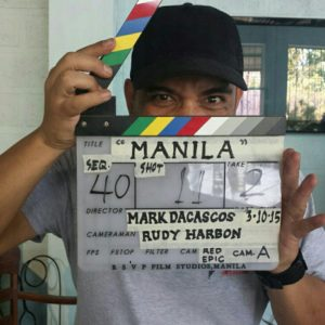 On the set of Showndown in Manila.