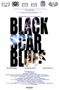 """""""Black Scar Blues"""" Theatrical Poster"""