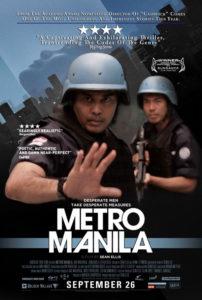 """Metro Manila"" Theatrical Poster"